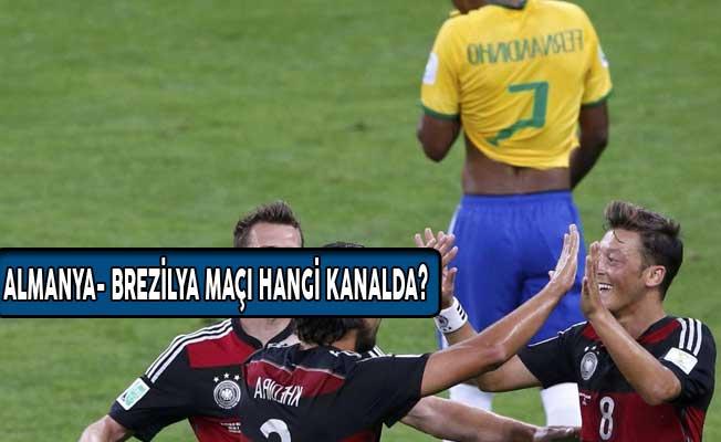 Almanya- Brezilya Maçı Hangi Kanalda? Saat Kaçta?
