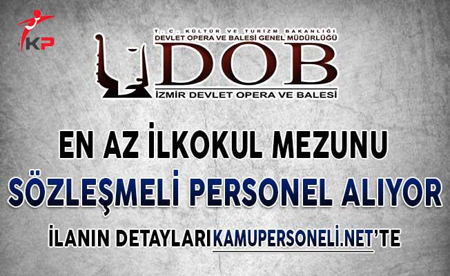 Ankara Devlet Opera ve Balesi En Az İlkokul Mezunu Sözleşmeli Personel Alım İlanı Yayımladı