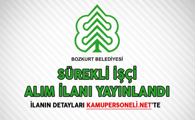 Bozkurt Belediye Başkanlığı Sürekli İşçi Alım İlanı Yayınlandı