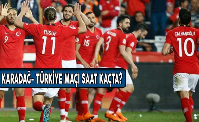 Karadağ- Türkiye Maçı Ne Zaman Saat Kaçta? Hangi Kanalda Yayınlanacak?