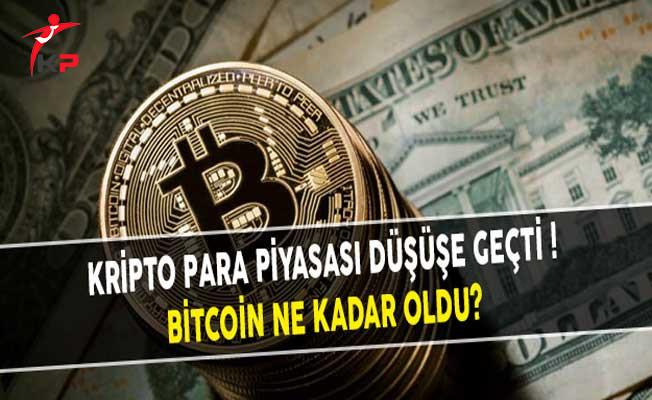 Kripto Para Piyasası Düşüşe Geçti! Bitcoin Ne Kadar Oldu?