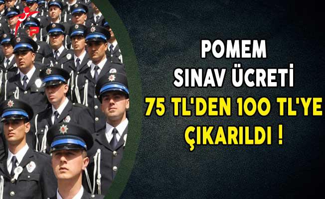 POMEM Sınav Ücreti 75 TL'den 100 TL'ye Çıkarıldı!