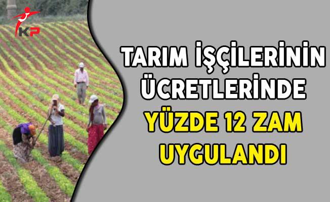 Tarım İşçilerinin Ücretlerinde Yüzde 12 Zam Uygulandı