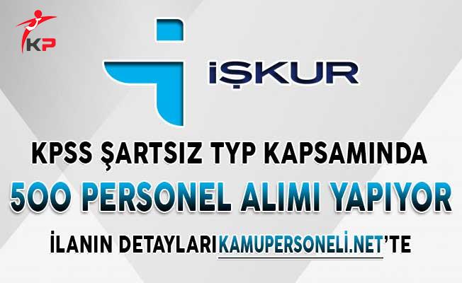 TYP Kapsamında 500 Personel Alımı İçin Başvurular Sona Eriyor ! KPSS Şartsız