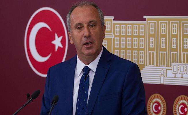 CHP Milletvekili Muharrem İnce: İlk Turda Çatı Aday Doğru Tercih Değildir
