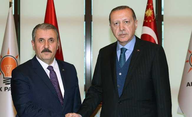 Cumhurbaşkanı Erdoğan Mustafa Destici İle Bir Araya Gelecek