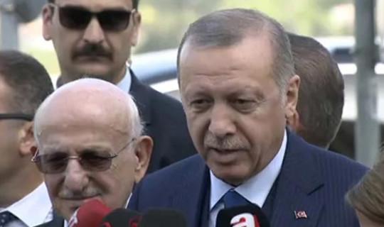 Cumhurbaşkanı Erdoğan: Putin ve Trump'la Görüşüp Gerilimi Yumuşattık