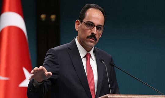 Cumhurbaşkanlığı Sözcüsü Kalın'dan Kabine Değişiklik Konusuna İlişkin Açıklama