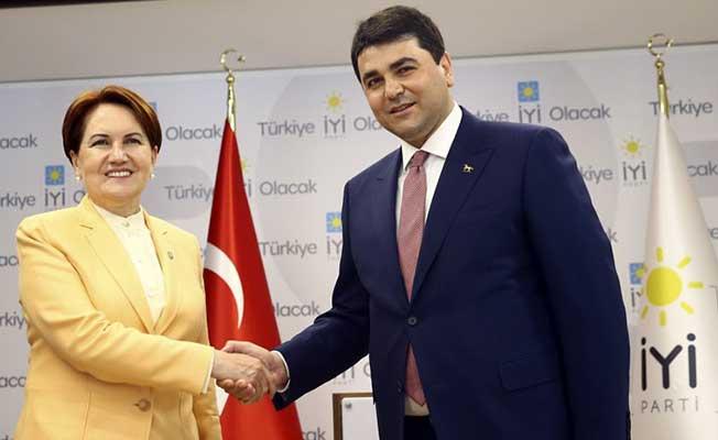 DP Genel Başkanı Uysal Meral Akşener'i Ziyaret Etti