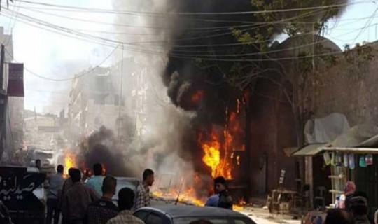 El Bab'da Bombalı Saldırı ! Çok Sayıda Ölü ve Yaralı Var
