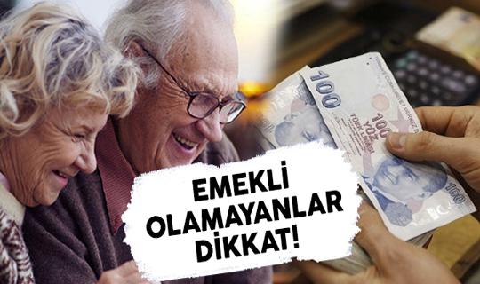 Emekli Olamayanlar Dikkat! Hizmet Tespiti İle Erken Emekli Olabilirsiniz