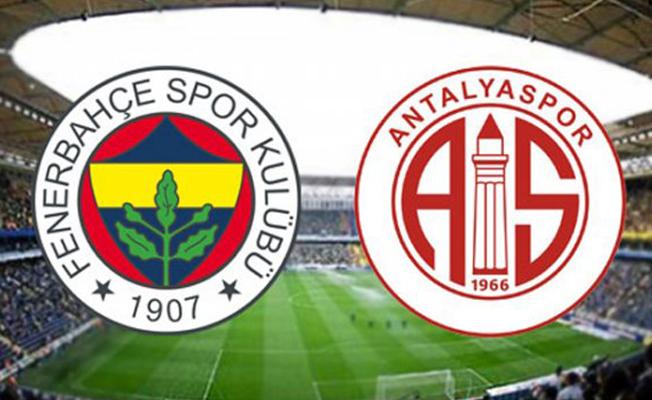 Fenerbahçe Antalyaspor Maçı Saat Kaçta? Hangi Kanaldan Yayınlanacak?