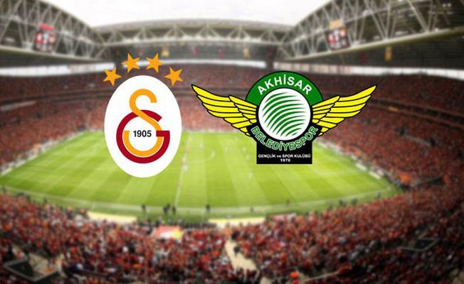 Galatasaray Akhisarspor Maçı Saat Kaçta? Hangi Kanaldan Yayınlanacak?