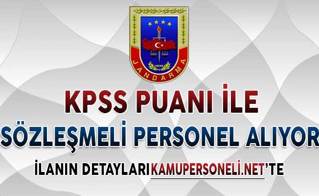 Jandarma Genel Komutanlığı Sözleşmeli Personel Alım İlanı Yayımlandı