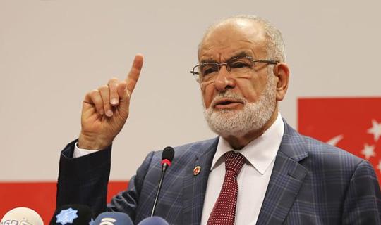 Saadet Partisi Lideri Karamollaoğlu: Kendinize Gelin