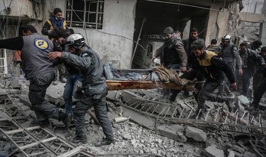 Suriye Doğu Guta'da Kimyasal Saldırısında Can Kaybı Artıyor!