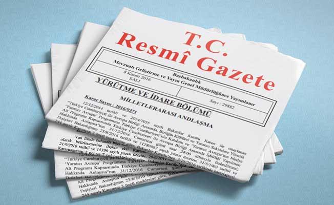 TMSF'ye Ait Atama Kararları Resmi Gazete'de Yayımlandı