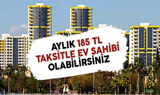 TOKİ'den Aylık 185 TL Taksitle Ev Sahibi Olabilirsiniz ! 6 Bin 893 Konut Satışa Sunuldu !