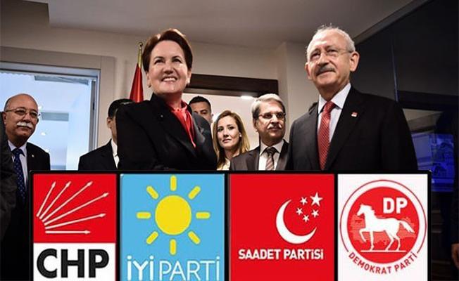 4 Muhalefet Partisi İttifak Konusunda Anlaştılar