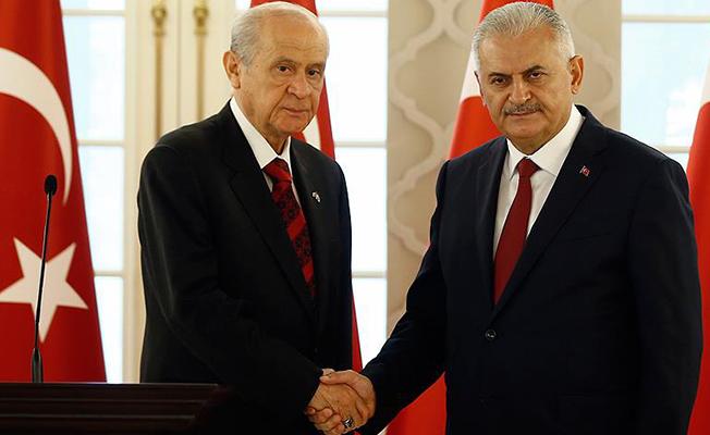 Başbakan Yıldırım'dan Bahçeli'ye Cevap: Gündemimizde Af Yok!