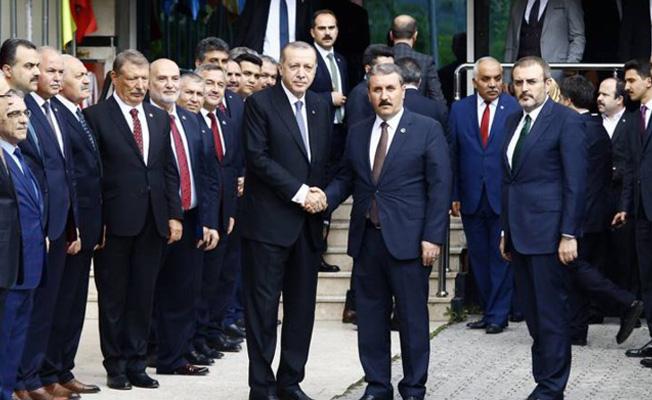Cumhurbaşkanı Erdoğan BBP Lideri Destici'yi Ziyaret Etti!