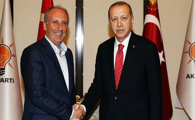 Cumhurbaşkanı Erdoğan İle Muharrem İnce Görüşmesi Sona Erdi! İşte Yapılan Açıklamalar
