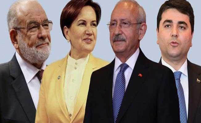 Dört Parti Millet İttifakı Bildirisini YSK'ya Sundu ! İşte İmzalanan O Protokol