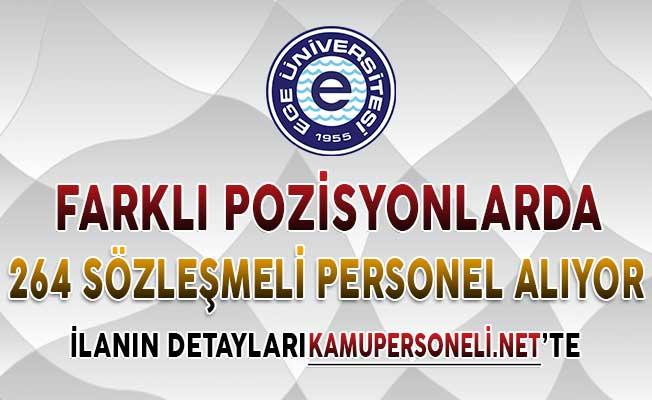 Ege Üniversitesi 264 Sözleşmeli Personel Alımı Yapıyor