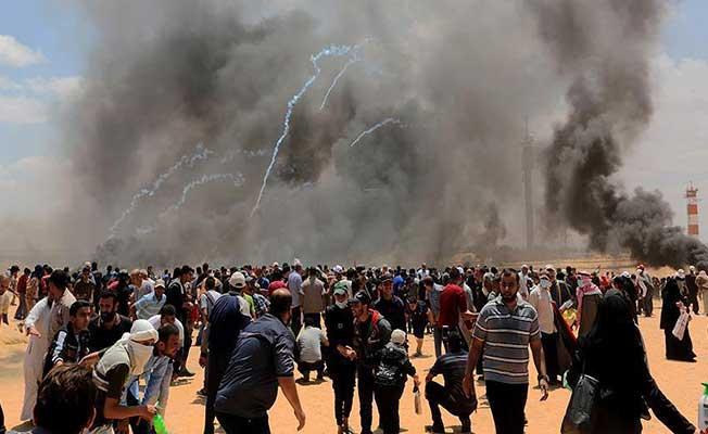 İsrail Askerlerinin Şehit Ettiği Filistinli Sayısı 60'a Yükseldi (Yaralı Sayısı 2 Bin 770'in Üzerinde)