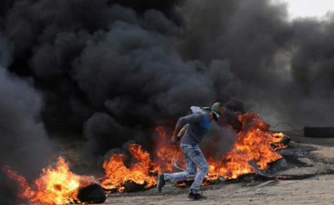İsrail Askerleri Gazze'de Ateş Açtı ! Çok Sayıda Ölü ve Yaralı Var