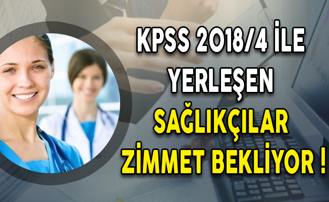 KPSS 208/4 İle Sağlık Bakanlığı'na Yerleşen Sağlık Personeli Zimmet Bekliyor