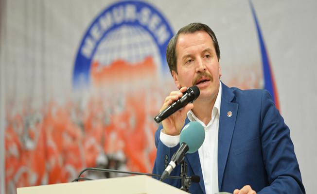 Memur Sen Başkanı Yalçın: Kamu Görevlilerine de Bayram İkramiyesi Verilmeli