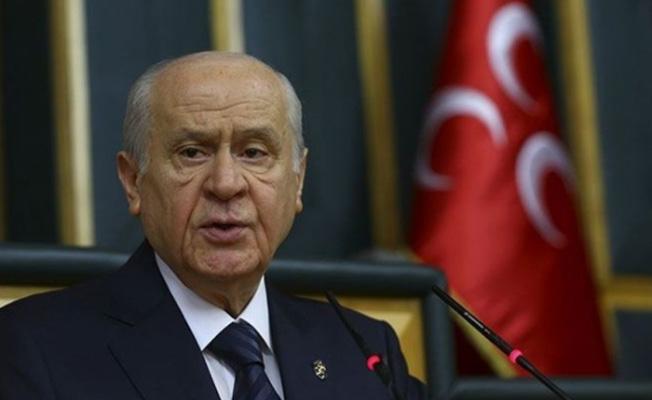 MHP Lideri Bahçeli'den Kudüs Açıklaması