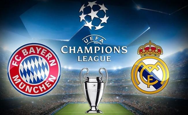 Real Madrid Bayern Münih Şampiyonlar Ligi Maçı Hangi Kanalda? Saat Kaçta?