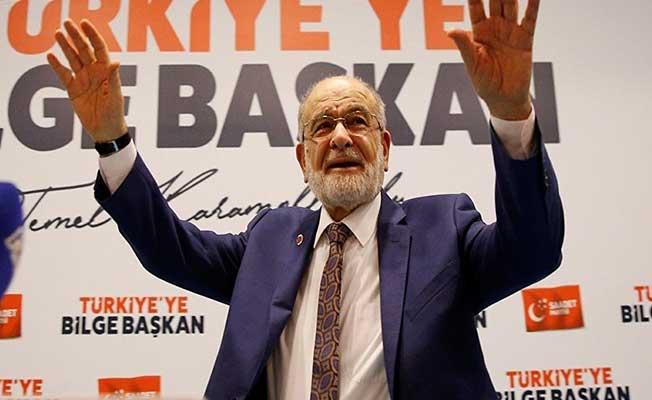 SP'nin Cumhurbaşkanı Adayı Temel Karamollaoğlu 100 Bin İmzayı Geçti