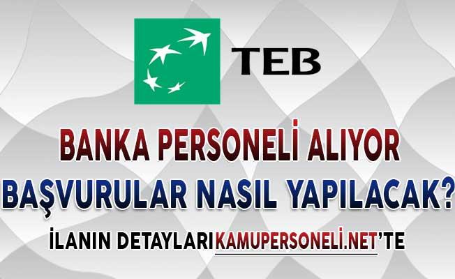 Türk Ekonomi Bankası Personel Alımı Yapıyor ! İşte Başvuru Detayları (En Az Lise Mezunu)