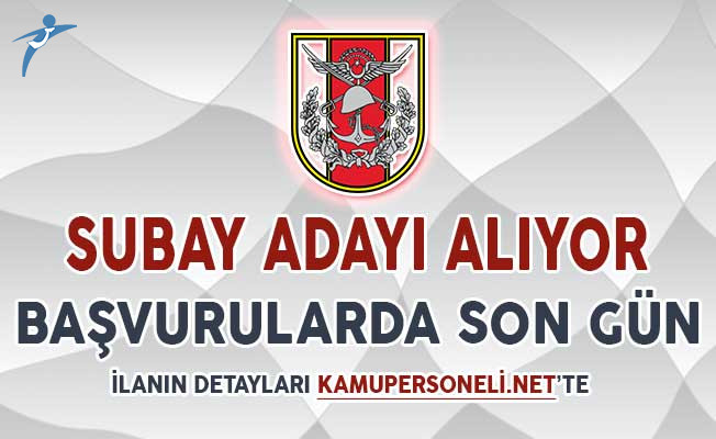 Türk Silahlı Kuvvetleri (TSK) Muvazzaf Subay Adayı Alım İlanı İçin Başvurularda Son Gün