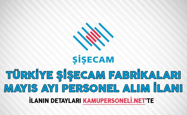 Türkiye Şişecam Fabrikaları Mayıs Ayı Personel Alım İlanı