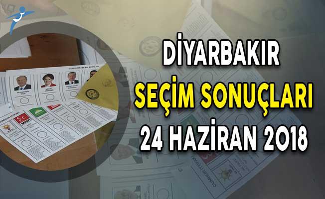 2018 Diyarbakır Cumhurbaşkanlığı Seçim Sonuçları ! Diyarbakır Seçim Sonuçları ve Oy Oranları 24 Haziran