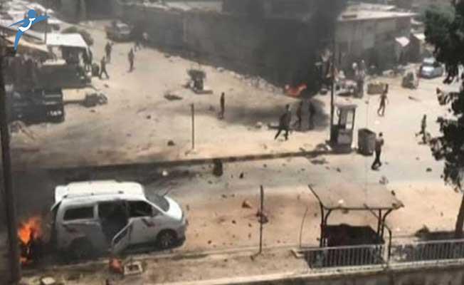 Afrin'de Bomba Yüklü İki Araçla Terör Saldırısı: Ölü ve Yaralılar Var
