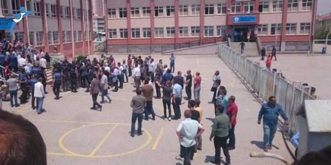 Ankara'da Görevliler ve Müşahitler Arasında Tartışma Yaşandı!