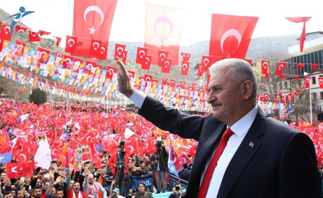 Başbakan Yıldırım'dan Muharrem İnce'ye: Akla Bak Akla Bir Asır Önceden Kalmış