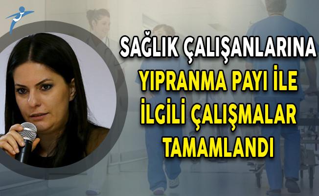 Çalışma Bakanı Sarıeroğlu: Sağlık Çalışanlarına Yıpranma Payı Verilmesine İlişkin Çalışmalar Tamamlandı