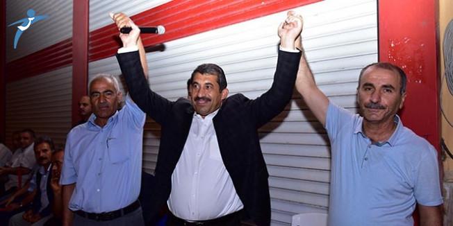 Ceylanpınar'ın Eski HDP'li Belediye Başkan Yardımcısı Muzaffer Acet ve Halil Kesmez AK Parti'ye Katıldı