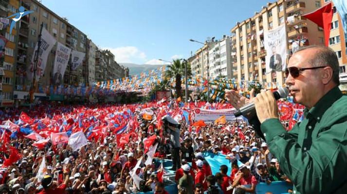 Cumhurbaşkanı Erdoğan: Hanımefendiyi ve Temel Efendiyi Yardımcısı Olarak Yanına Alacakmış
