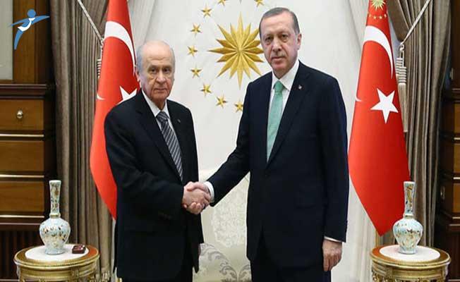 Cumhurbaşkanı Erdoğan ve MHP Lideri Bahçeli Görüşmesinin Saati Belli Oldu