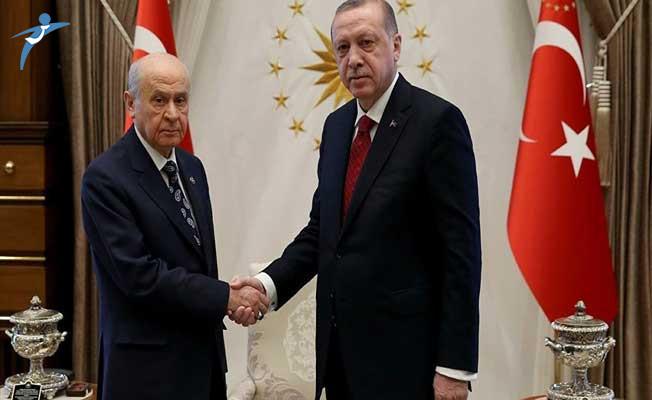 Cumhurbaşkanı Erdoğan ve MHP Lideri Bahçeli OHAL ve Bedelli Askerlik Konularını Ele Almışlar