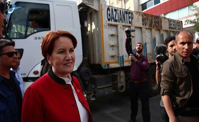 Gaziantep'te İYİ Parti Lideri Meral Akşener'in Yolunun Kesildiği İddialarına Valilikten Açıklama Geldi