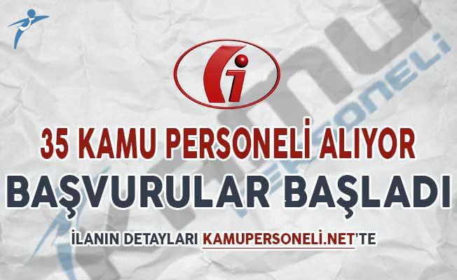 Gelir İdaresi Başkanlığı (GİB) 35 Kamu Personeli Alımı Başvuruları Başladı
