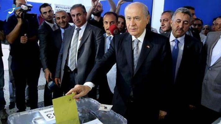 MHP Lideri Devlet Bahçeli Oyunu Kullandı!